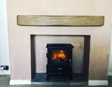 Electric Stove with Beam